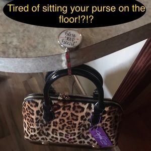 Bless Your Heart or Stay Positive Purse Hanger